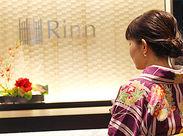 本社は移転したばかり!高級感と情緒あふれるホテルの様なエントランスでお迎えします。
