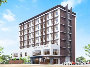 \オープニング大募集!!/ 2021年3月上旬OPEN予定★ 完全新築のキレイなホテルで働きませんか◎