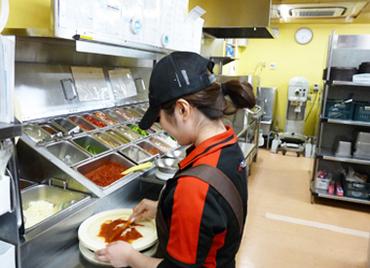 【ピザハットクルー】\秋から始める♪ピザハットバイト☆/週1&3h~のゆるめシフトがウレシイ♪高校生~学生、フリーター皆さん大歓迎!!