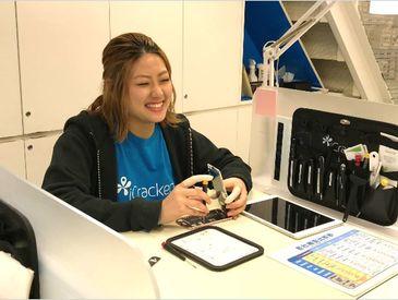 ◆+。:* New Staff大募集!! *:。+◆ iCrackedはアメリカ発祥ブランド オシャレ×スタイリッシュなお店で 一緒に働きませんか♪