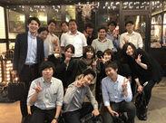 大阪オフィスで活躍中のスタッフ。元飲食店員・元コンビニ店員など経歴はさまざま!  \嬉しい正社員登用も♪/