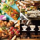 オシャレなバルやコーヒーを焙煎から入れる本格CAFEetc…4つのお店が集まったFOOD HALLでのお仕事です★
