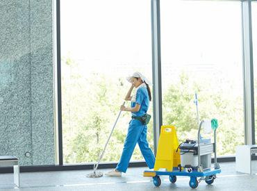 六本木のテレビ局内で働くチャンス!自分の部屋を掃除する感覚で掃除しちゃえばOK! ※イメージ画像