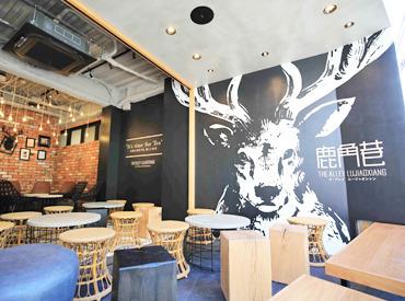 【店舗Staff】≪IT'S TIME FOR TEA!≫グローバル展開をする話題のお店◎メディアも大注目の人気店でバイトを始めよう★