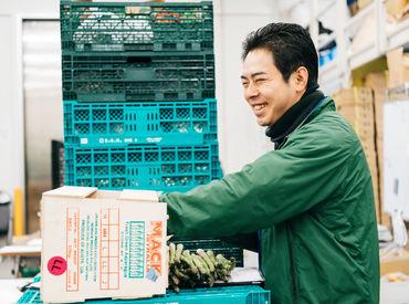 【果物・野菜のピッキング/配送】<綺麗な豊洲市場でお仕事>旬の果物・野菜を仕分け&配達するお仕事◎Wワーカーさん/パート復帰も大歓迎!正社員も積極採用中!
