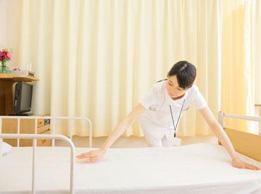 【看護師サポート】お仕事とっても簡単!!残業ほぼなし♪ご家庭との両立◎「総合病院がいい」「家の近くがいい」などお気軽にご相談ください★