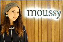 moussy佐々木さん